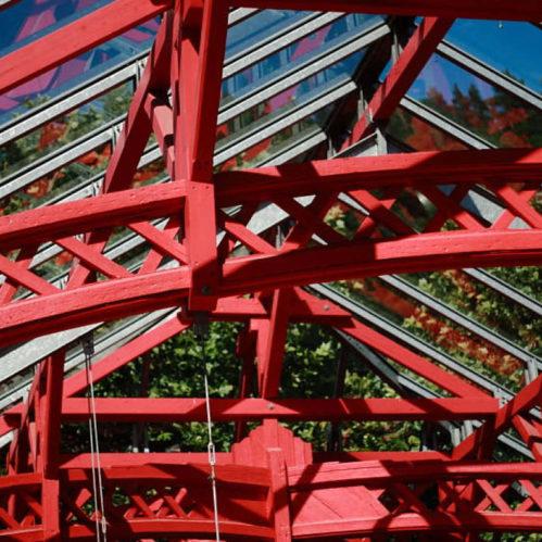 Denkmalsanierung – Der Stephansdachstuhl