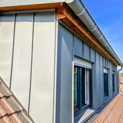 Errichtung einer Dachgaube