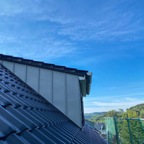 Neubau Dach und Gaube