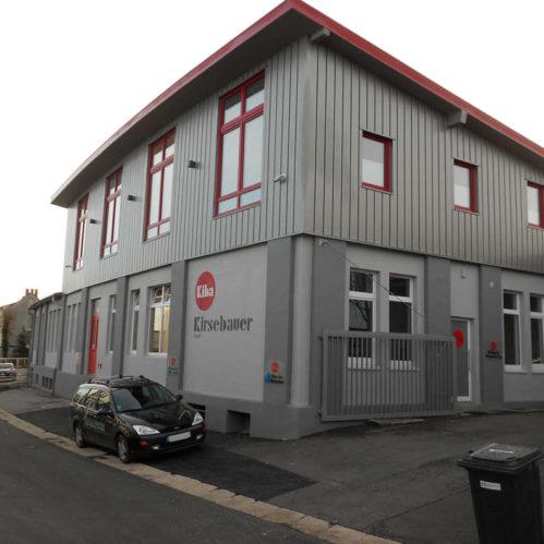 Aufstockung eines Industriegebäudes