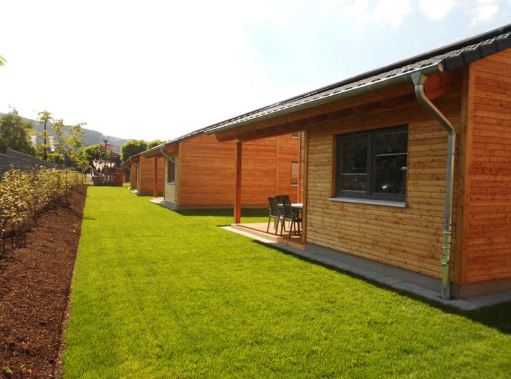 Neubau einer Ferienhausanlage für das AquaMagis