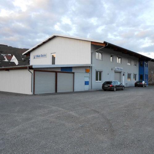 Neubau eines Firmengebäudes