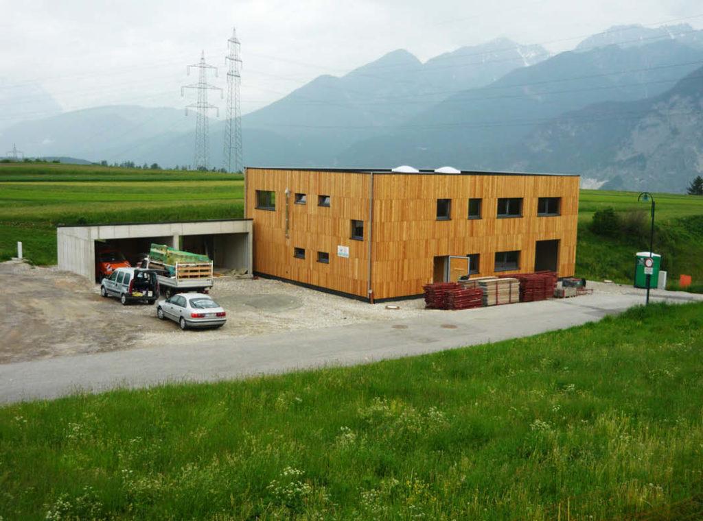 Neubau eines Bürogebäudes in Österreich